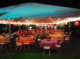 cheap wedding lighting ideas. Tent Perimeter Lighting With Cafe Lights Cheap Wedding Ideas