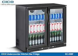 high capacity 2 door beer bottle