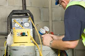 air conditioning gas. a refrigerant leak is one common air conditioning problem. | photo courtesy of © gas