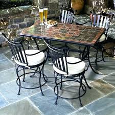 counter height outdoor table height patio