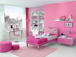 Pink Bedroom Curtains Bedroom Pink Wall Theme And Curtains On The Hook Connected Teenage
