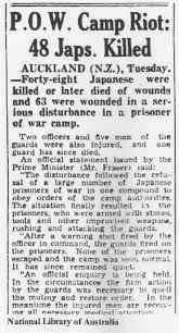 「1943 Featherston Incident」の画像検索結果
