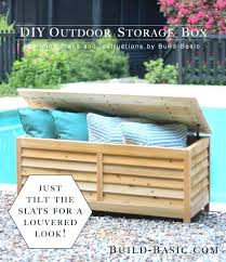 outdoor storage benches diy bench seat build outdoors