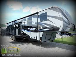 toy hauler2016 fuzion fz420 fifth wheel rv side patio deck 12 throughout sizing 1024 x 768