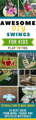 one of the best ways to do it is make them a diy swing so i gathered 25 diy swing ideas and i hope you ll find the one that fits to your backyard