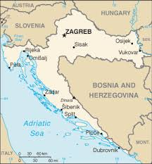 Image result for croatia map