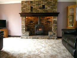 convert fireplace to electric stunning wood stove home interior converting into