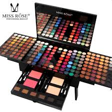 miss rose professional full makeup palette sets for women lip face eyes eyeshadow powder lipstick brand
