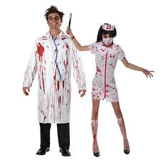 <b>Umorden</b> Carnival <b>Party Halloween</b> White Bloody Zombie Doctor ...