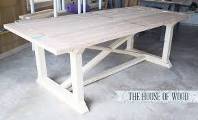 building kitchen tables comfy how to make your own farmhouse table for 1