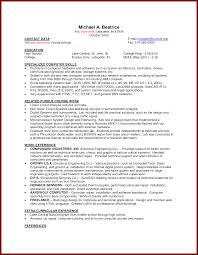 17 Cv Sample For First Job Sendletters Info