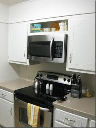 over the stove microwave. Over The Range Microwave Without Cabinet Doubtful Hung Up Bean In Love Home Interior 3 Stove