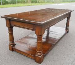 antique coffee table beautiful antique style oak coffee table