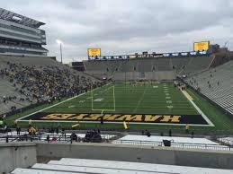 Kinnick Stadium Section 215 Home Of Iowa Hawkeyes