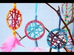 Making Dream Catchers With Pipe Cleaners Interesting How To Make Simple Dreamcatchers Sophie's World YouTube