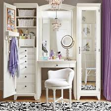 beauty desk with mirror white vanity table with lights wooden makeup table