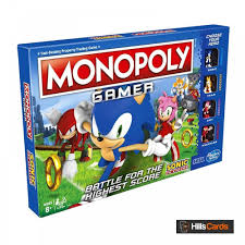 #sonicthehedgehog | #badnikmechanic | sonic30thanniversarylet's take a look at the new sonic game, the sonic the card game! Hasbro Gaming Sonic The Hedgehog Monopoly Gamer Board Game Board Card Games From Hills Cards Uk
