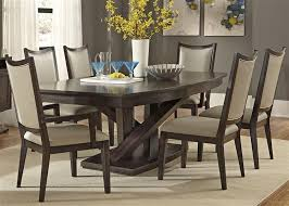 seven piece dining set: liberty furniture southpark  piece dining set item number  dr pds