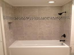 18 Photos Of The Bathroom Tub Tile Designs Installation With Contemporary Bathroom  Tub Tile Ideas