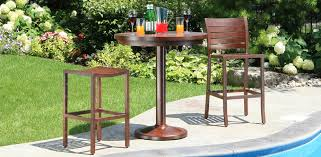 outdoor bar stools and bar tables guide