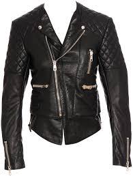 Kristen Stewart wears Balenciaga Quilted Biker Leather Jacket ... & Credit: ... Adamdwight.com