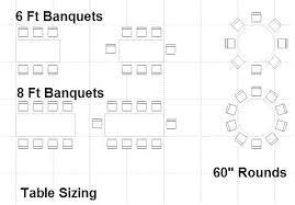 8 ft table seats 6 foot banquet table 8 foot banquet table 8 foot table seating
