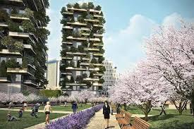 Bosco Verticale- Vertical Garden Apartments In Milan Italy 2