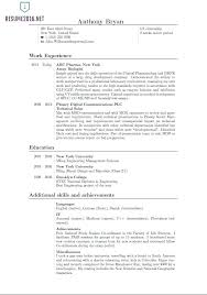 Best Resume Templates 2015 Resume Format Astounding Sample Example Template Latest How To Write