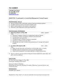 Resume Example For Bank Teller New Bank Teller Resume Sample