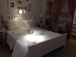 White Hemnes Bed With Grey Cream And Baby Pink Ikea St Gallen