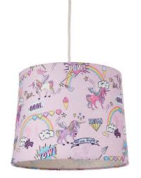 Childrens Unicorn Light Shade J D Williams