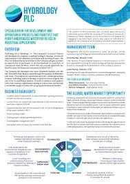hydrology plc eis