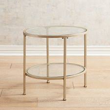 Image Distressed Nightstand Metal End Table Pier Accent Tables End Tables Pier Imports