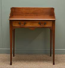 small writing table. Victorian, Mellow Mahogany, Small Antique Writing Table / Wash Stand. I