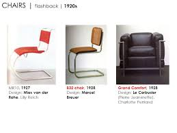 lilly reich furniture. 5 CHAIRS | Flashback 1920s MR10, 1927 Design: Mies Van Der Rohe, Lilly Reich B32 Chair, 1928 Marcel Breuer Grand Comfort, Le Furniture