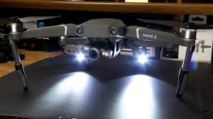 DJI Mavic 2 Landing Gear Extensions With LED Headlamp Set ...