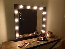makeup vanity lighting ideas. Plug In Vanity Light Makeup Mirror Lighting Ideas With Lamps Around