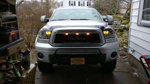 2008 Tundra Grill With Light Bar Eag Grille Lights Wired Toyota Tundra Forum