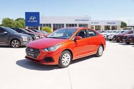 used 2020 hyundai accent for in