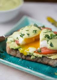 avocado toast eggs benedict with
