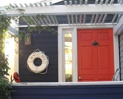 Small Picture Exterior House Decor Ideas with a Nautical and Beach Theme