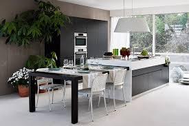 kitchen island dining fresh 15 contemporary modular kitchen design solutions
