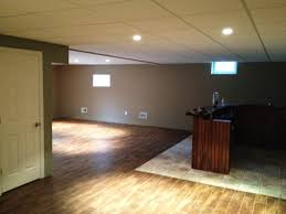 unfinished drop ceiling lighting options