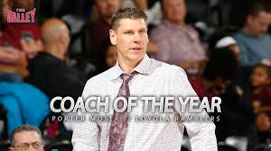 Loyola's Porter Moser Earns MVC Coach of the Year Honor - Missouri Valley  Conference