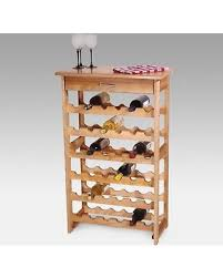 standing wine rack. Detroit 36-Bottle Floor Standing Wine Rack - 7237 A