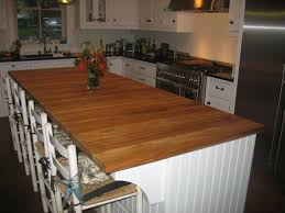 For Kitchen Island Oak Kitchen Island Custom Made Custom Light Blue Oak Kitchen