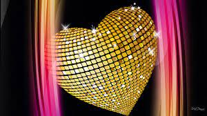 Gold Hearts Wallpaper on WallpaperSafari
