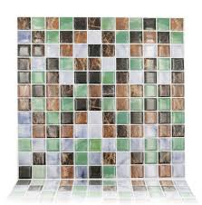 Vinyl Floor Tile Backsplash Interior Decor Peel And Stick Tile Vinyl Tile Backsplash