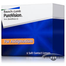 purevision toric purevision monthly contact lenses for astigmatism