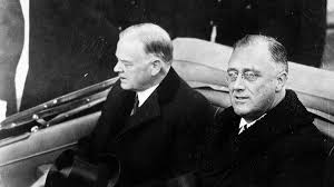 newsela   famous speeches  franklin d  roosevelt    s first inaugural    franklin d  roosevelt  right  is escorted by president herbert hoover in an automobile from the white house to the capitol in washington  d c